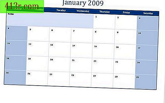 Come creare un calendario in Microsoft Excel