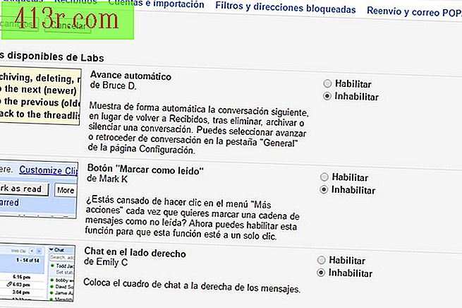 Aproveite os novos recursos do Labs no Gmail.